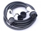 Kabel for lading av EL-bil. Mode 3, 32A, 5 meter, type 2 thumbnail