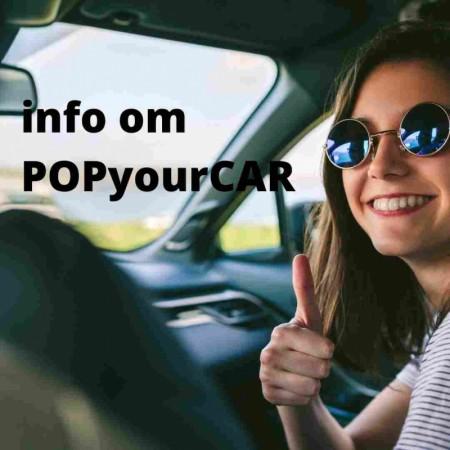 POPyourCAR - bilradio-adapter